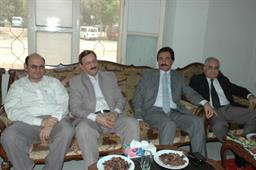Chairman meeting with CBA after performing Ummrah - 2