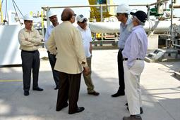 Chairman PQA visited LNG Terminal on 26th April, 2018 - 18