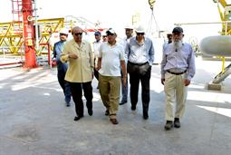 Chairman PQA visited LNG Terminal on 26th April, 2018 - 19