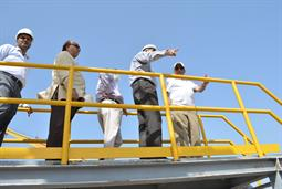 Chairman PQA visited LNG Terminal on 26th April, 2018 - 24