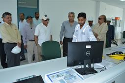 Chairman PQA visited LNG Terminal on 26th April, 2018 - 21