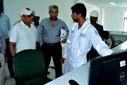 Chairman PQA visited LNG Terminal on 26th April, 2018 - 22