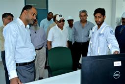 Chairman PQA visited LNG Terminal on 26th April, 2018 - 5