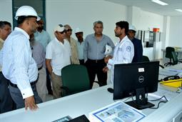 Chairman PQA visited LNG Terminal on 26th April, 2018 - 6