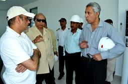 Chairman PQA visited LNG Terminal on 26th April, 2018 - 7