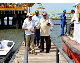 Chairman PQA visited LNG Terminal on 26th April, 2018 - 2