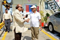 Chairman PQA visited LNG Terminal on 26th April, 2018 - 4