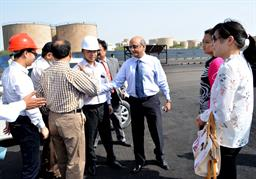 Chairman PQA visited Multi Purpose Terminal - 1