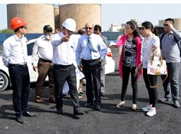 Chairman PQA visited Multi Purpose Terminal - 4