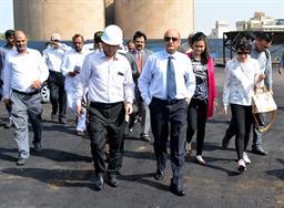 Chairman PQA visited Multi Purpose Terminal - 5