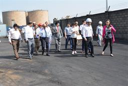 Chairman PQA visited Multi Purpose Terminal - 7