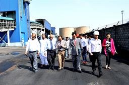 Chairman PQA visited Multi Purpose Terminal - 9