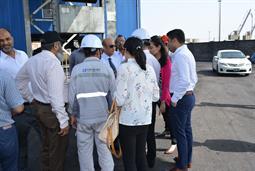Chairman PQA visited Multi Purpose Terminal - 16
