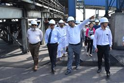 Chairman PQA visited Multi Purpose Terminal - 20