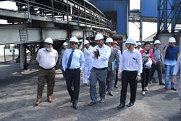 Chairman PQA visited Multi Purpose Terminal - 21