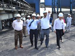 Chairman PQA visited Multi Purpose Terminal - 22