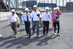 Chairman PQA visited Multi Purpose Terminal - 25