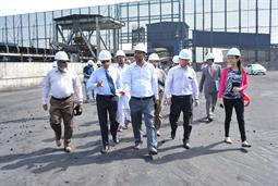 Chairman PQA visited Multi Purpose Terminal - 26