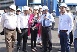 Chairman PQA visited Multi Purpose Terminal - 35