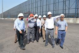 Chairman PQA visited Multi Purpose Terminal - 36