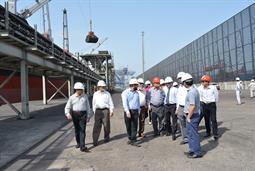 Chairman PQA visited Multi Purpose Terminal - 37