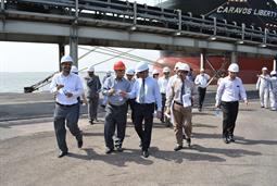Chairman PQA visited Multi Purpose Terminal - 38