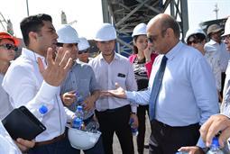 Chairman PQA visited Multi Purpose Terminal - 29