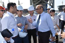 Chairman PQA visited Multi Purpose Terminal - 30