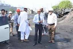 Chairman PQA visited Multi Purpose Terminal - 31
