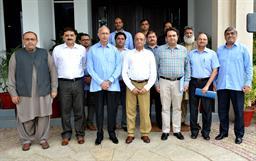 Chief Executive Officer Pakistan Railways visited PQA - 3