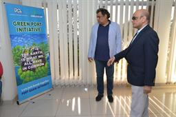 Federal Minister (Maritime Affairs) visited PQA on - 1