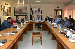 Federal Minister (Maritime Affairs) visited PQA on - 5