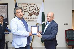 Federal Minister (Maritime Affairs) visited PQA on - 0