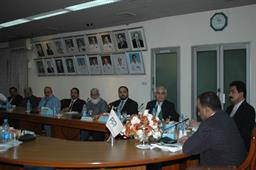Minister of Port and Shipping Mr Babar Ghori Visit PQA Feb 2009 - 17