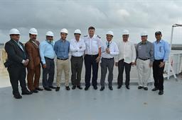 Secretary Maritime Affairs Visited PQA - 16