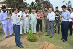 Chairman PQA in plantation ceremony - 9