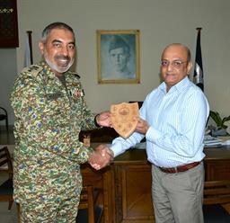 Chairman PQA presenting souvenir - 6