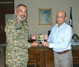 Chairman PQA presenting souvenir - 7