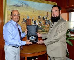 Chairman PQA presenting souvenir - 1