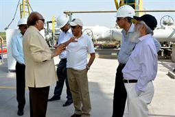 Chairman PQA visited LNG Terminal on 26th April, 2018 - 15