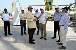 Chairman PQA visited LNG Terminal on 26th April, 2018 - 16