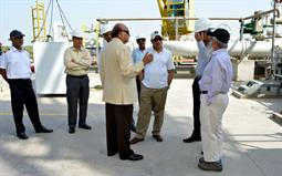 Chairman PQA visited LNG Terminal on 26th April, 2018 - 17