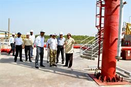 Chairman PQA visited LNG Terminal on 26th April, 2018 - 20