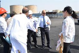 Chairman PQA visited Multi Purpose Terminal - 2