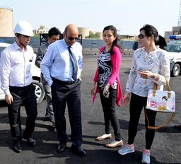 Chairman PQA visited Multi Purpose Terminal - 3