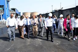Chairman PQA visited Multi Purpose Terminal - 13