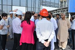 Chairman PQA visited Multi Purpose Terminal - 17