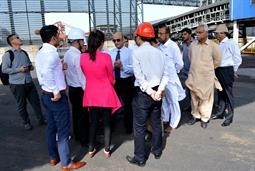 Chairman PQA visited Multi Purpose Terminal - 18