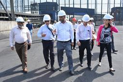 Chairman PQA visited Multi Purpose Terminal - 24