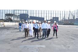 Chairman PQA visited Multi Purpose Terminal - 11